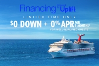 $0 down + 0% apr with carnival